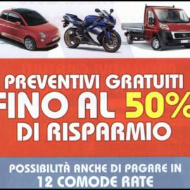 Sconto 50% Polizza auto